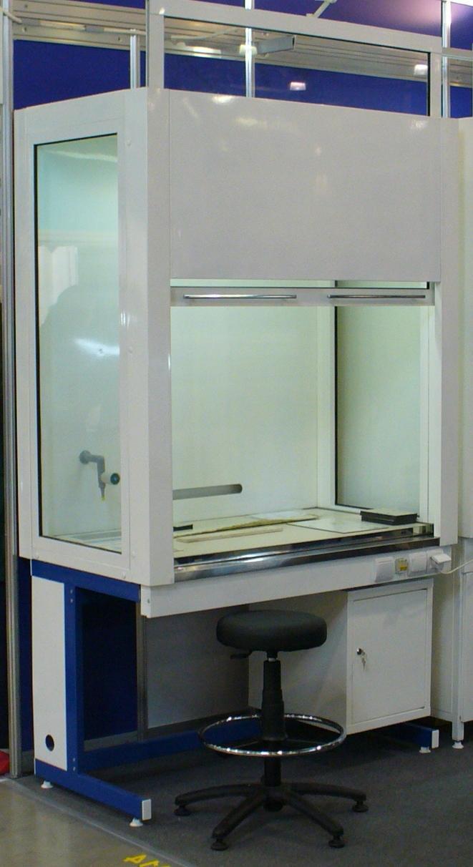 Шкаф в лаборатории