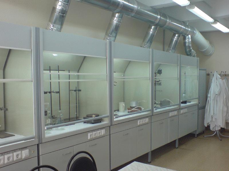 Шкафы вытяжные радиохимические