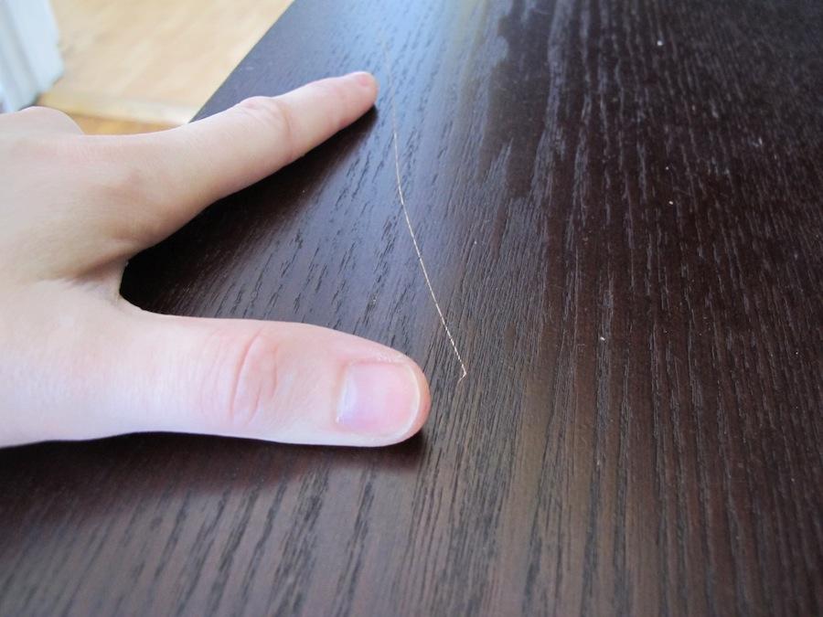 Создаем царапины на мебели