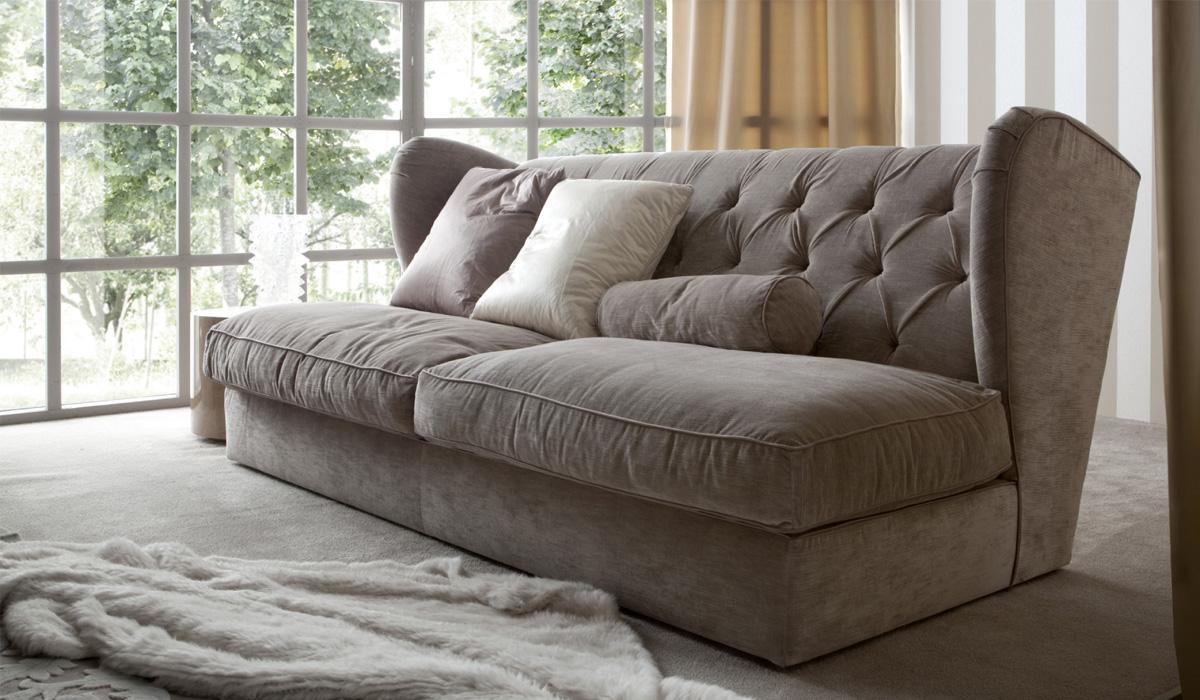 Стеганая мягкая мебель