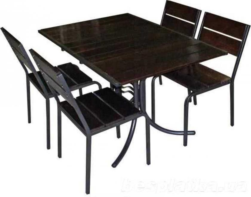Столы для летних кафе из металла