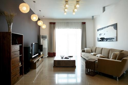 Светлая отделка комнаты
