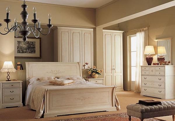 Теплый оттенок белой мебели