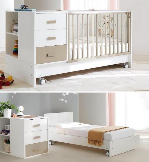 Типы кроватей для детской комнаты