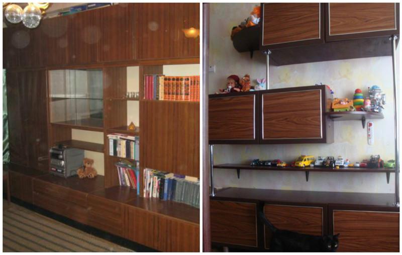 Трансформация советской мебели