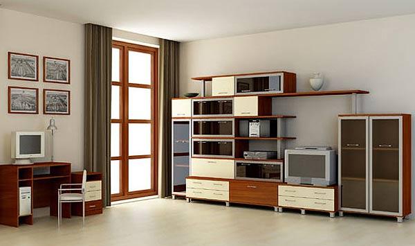 Удобная мебель для обустройства гостиной