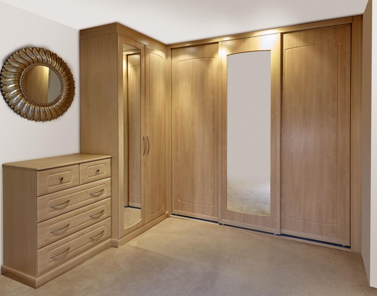 Угловой комбинированный шкаф