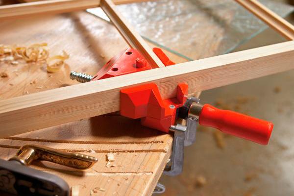 Угловые струбцины для мебели