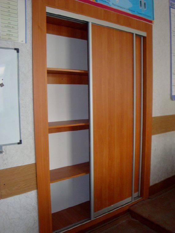 Встроенный школьный шкаф