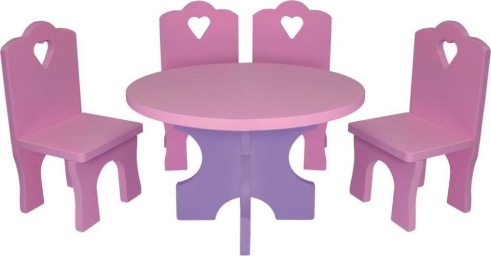 Яркая розовая мебель