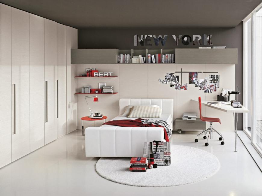 Яркие элементы мебели