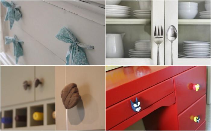 Замена ручек на мебели
