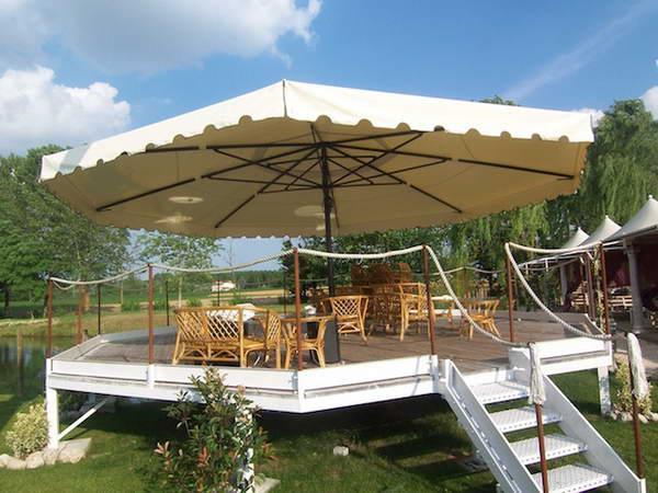 Зонтик для открытой площадки