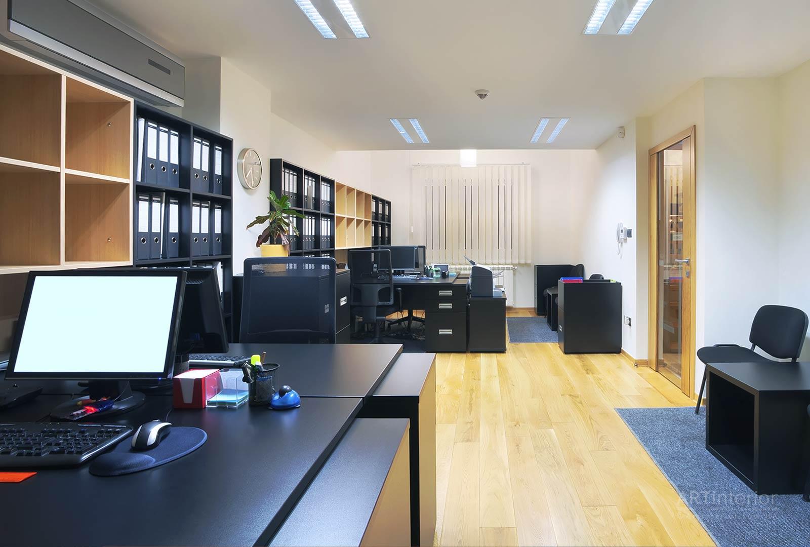 3d дизайн офиса и эргономика