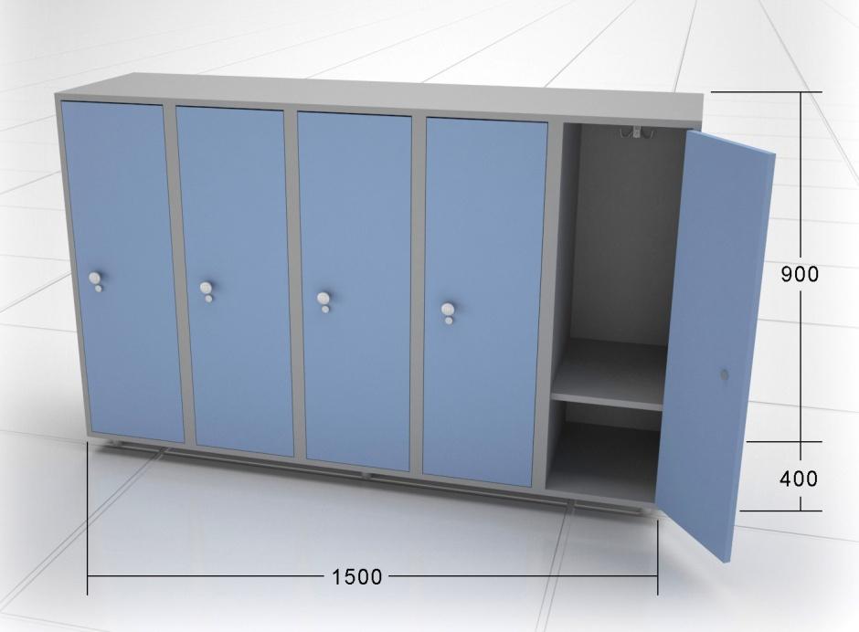 5-секционный шкафчик