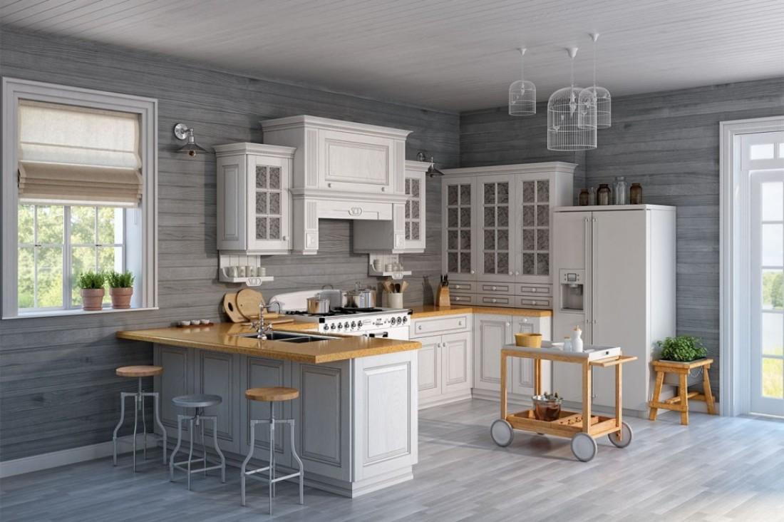 Американская мебель на кухне