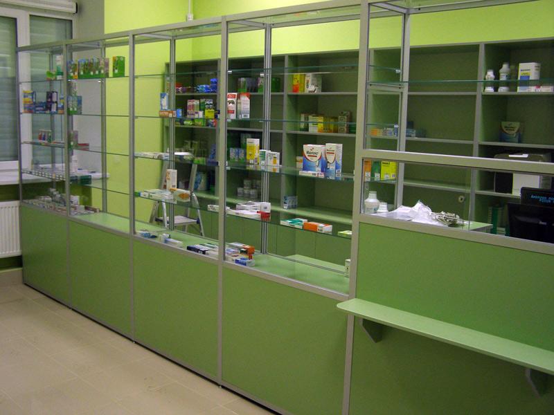 Аптечные витрины и их выбор