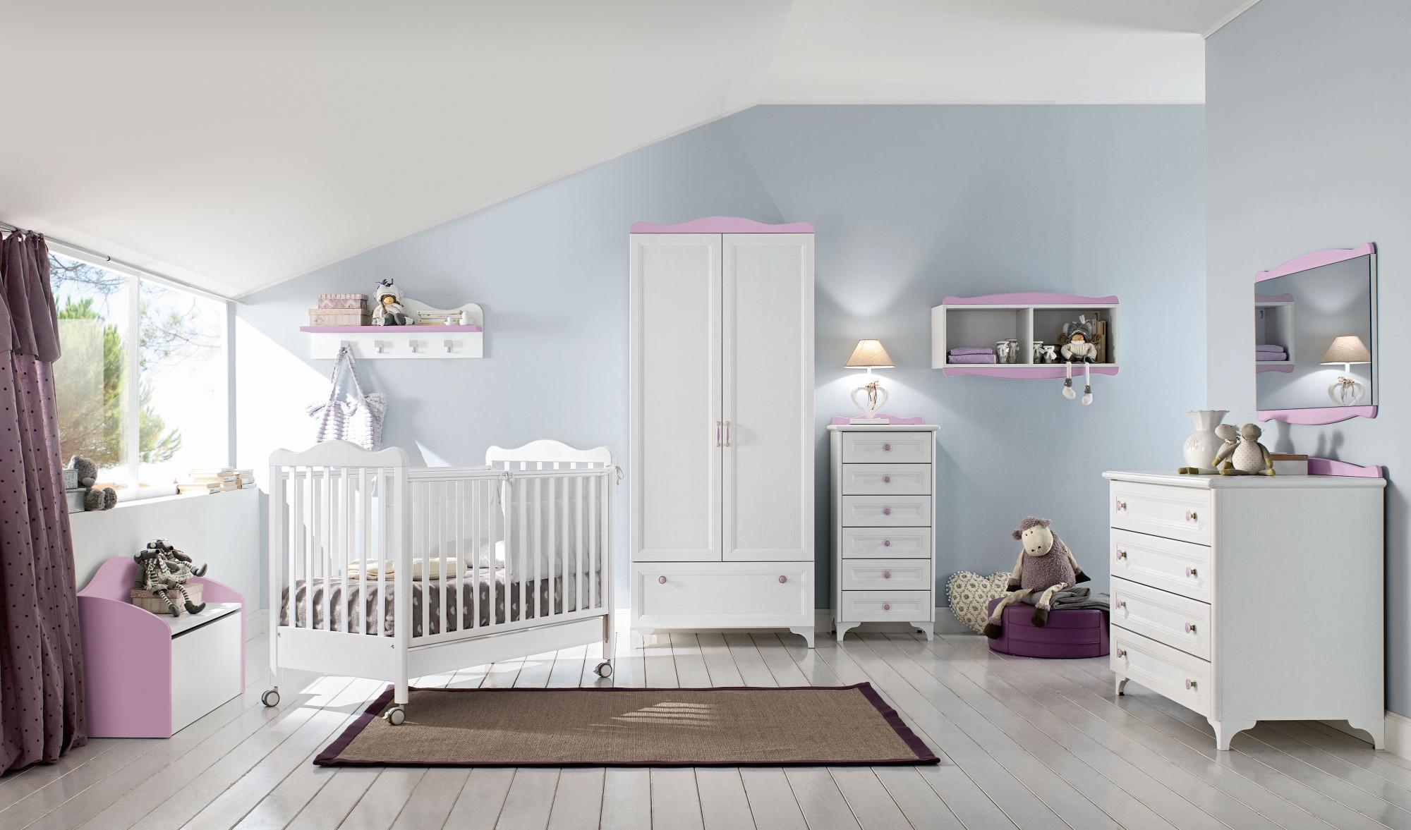 Белая мебель для детских комнат