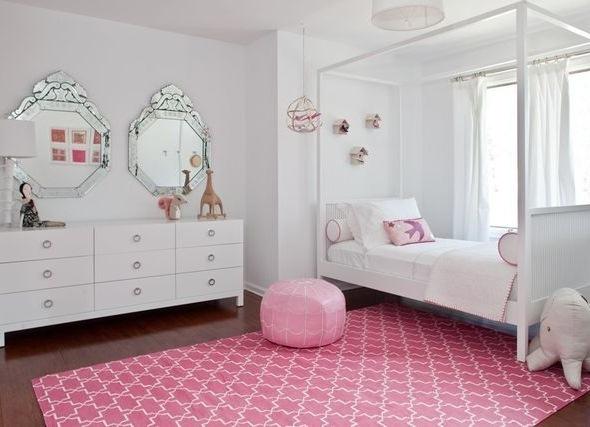 Белоснежная детская мебель
