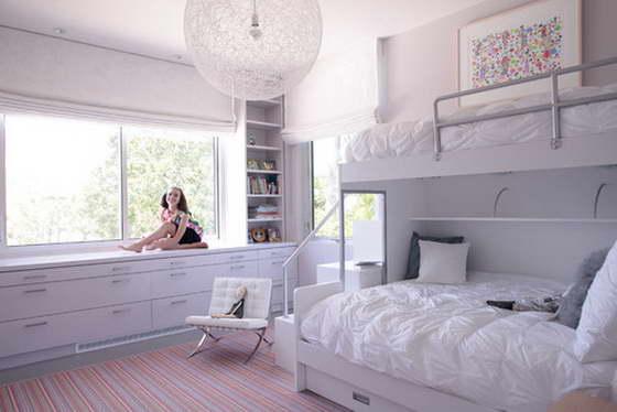 Белоснежный интерьер комнаты
