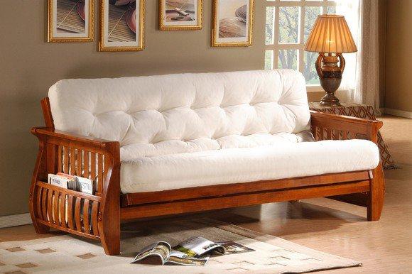 Белый мягкий диван производства Малайзии