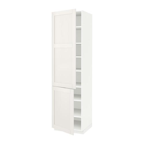 Белый распашной шкаф