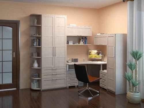 Белый шкаф для хранения бумаг