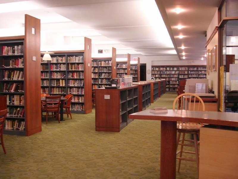 Библиотека и ее обустройство