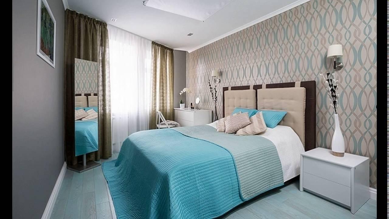 Большая кровать в малогабаритной спальне