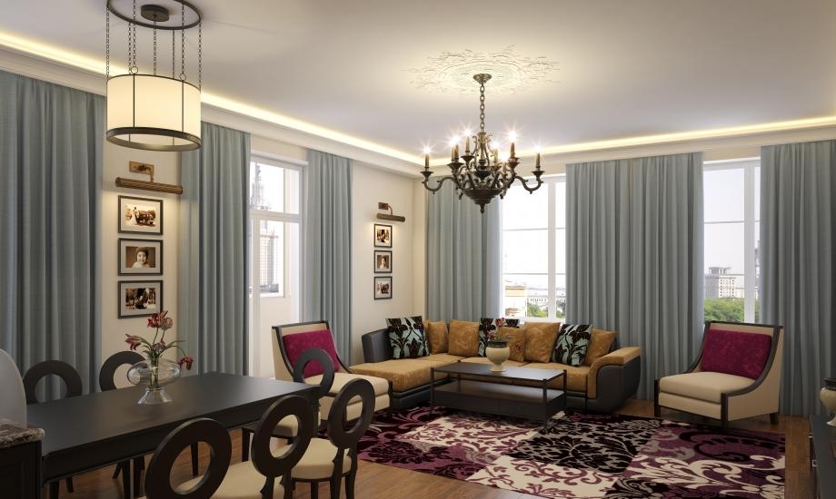 Чем отличается мебель в стиде неоклассика