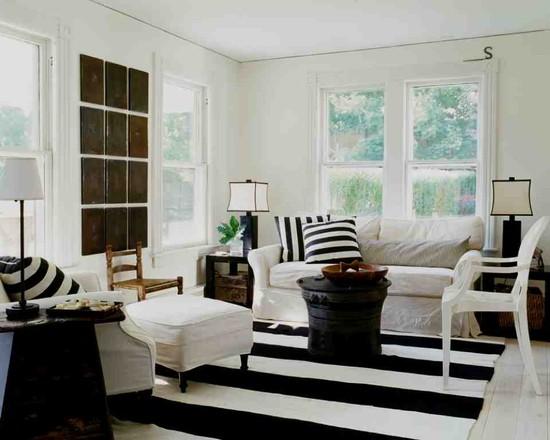 Черно-белые оттенки дизайна
