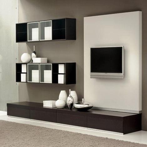 Черно-белые оттенки корпусной мебели