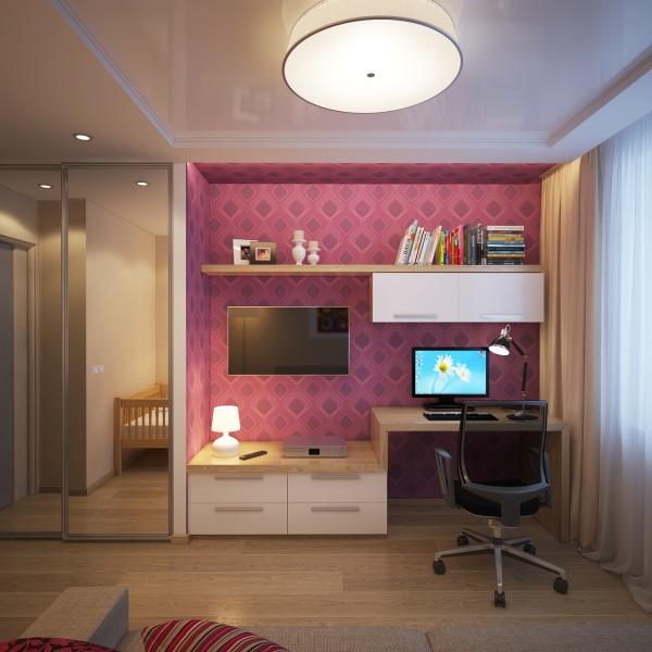 Что делать с небольшой спальней