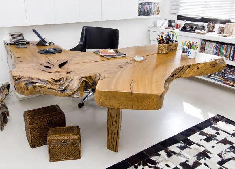 Деревянная мебель с дизайнерскими элементами