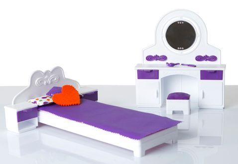 Детская игрушечная мебель для спальни