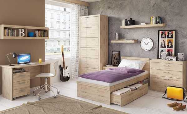 Детская комната с приятным дизайном