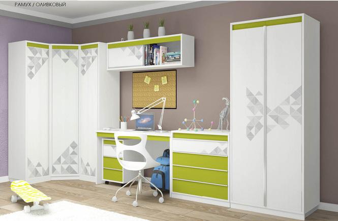 Детская модульная мебель для подростковой комнаты