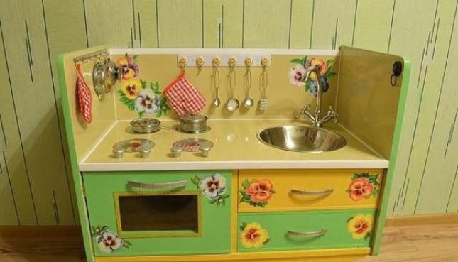 Детские кухни из безопасного пластика
