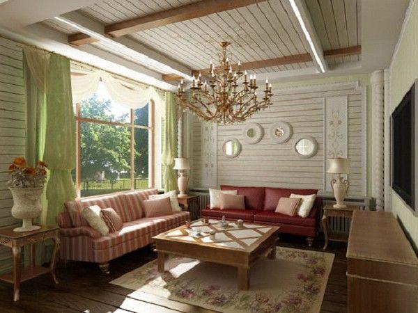 Дизайн интерьера дачи в светлых тонах