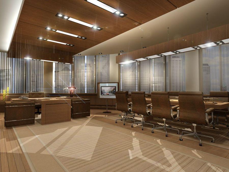 Дизайн интерьера офиса в стиле минимализм