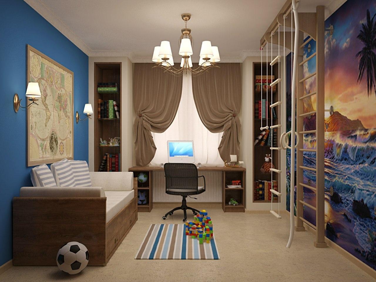 Дизайн комнаты для ребенка 2018 года