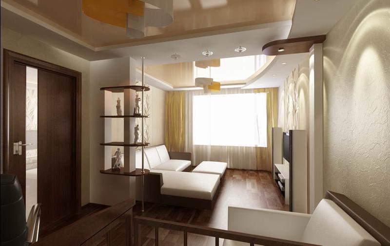 Дизайн комнаты в квартире студии