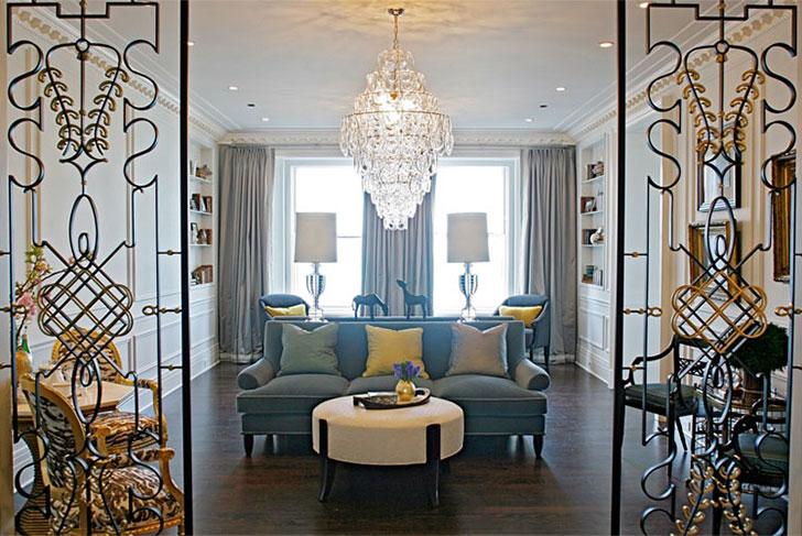 Дизайн квартир с оригинальными орнаментами