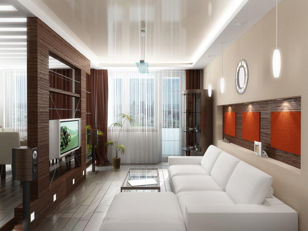 Дизайн квартиры гостиной кухни