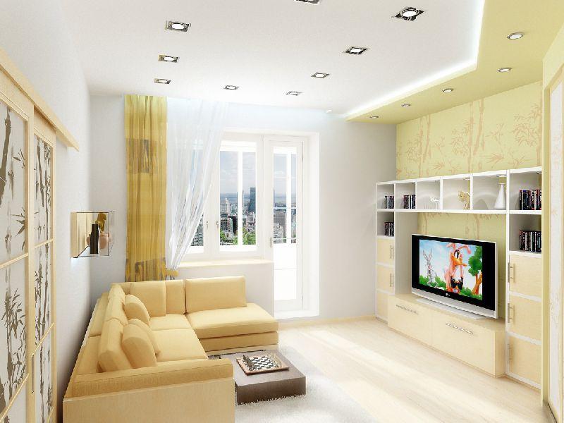 Дизайн квартиры студии небольшого размера