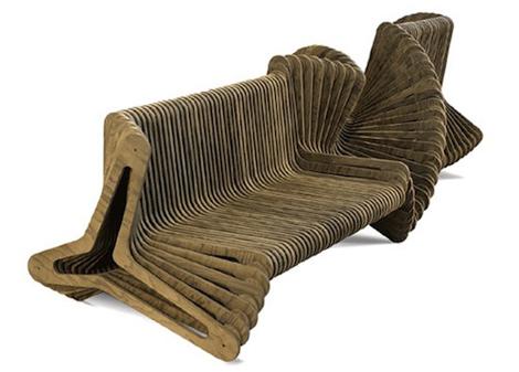 Дизайнерский необычный диван