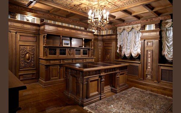 Дубовый рабочий кабинет