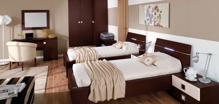 Две кровати в отеле