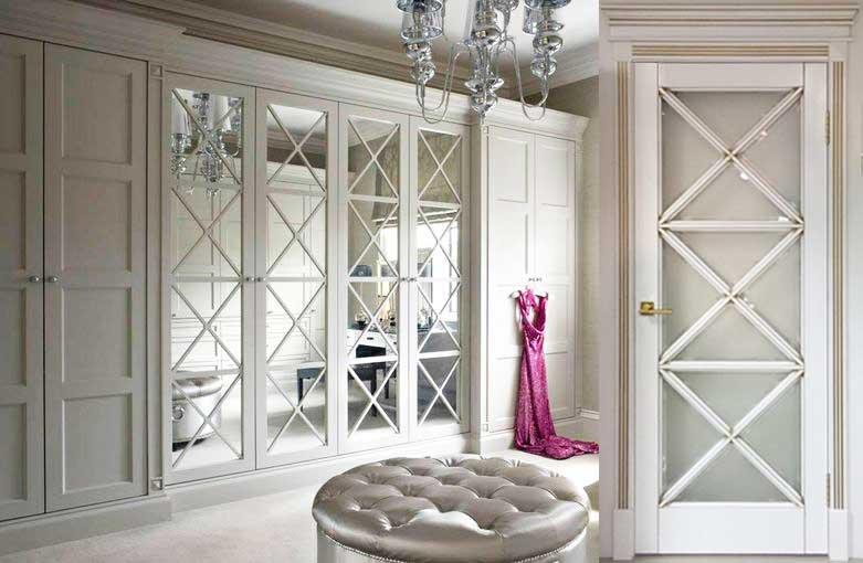 Двери распашные в шкафы