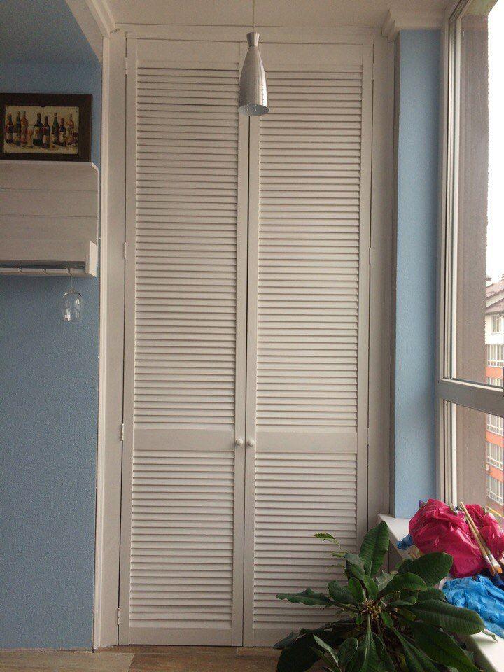 Двери рольставни для шкафа